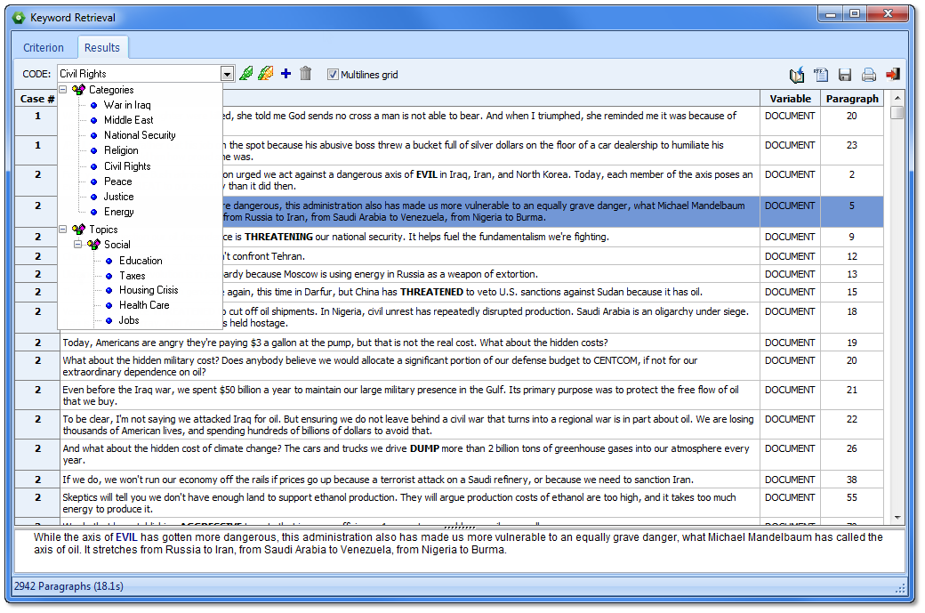 qualitative data analysis software free download